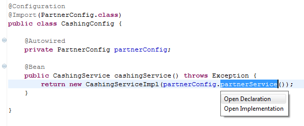CashingConfig
