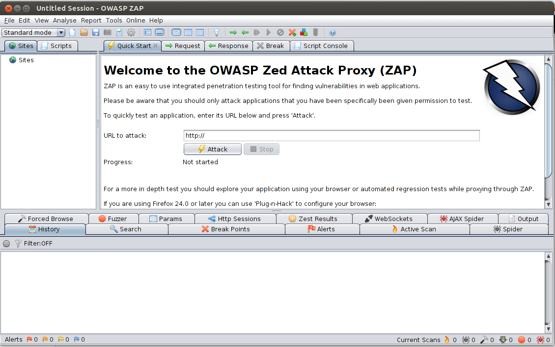 automated security testing of web applications using owasp zed