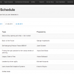 ALE 2014 Unconference Summary, conference schedule, app screenshot