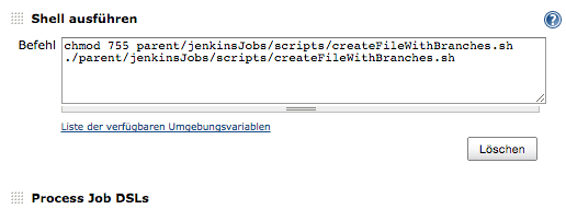 Generated Jenkins Jobs And Automatic Branch Merging For Feature