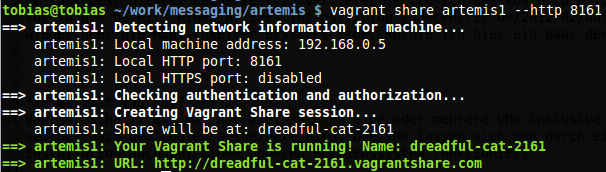 Vagrant HTTP Share