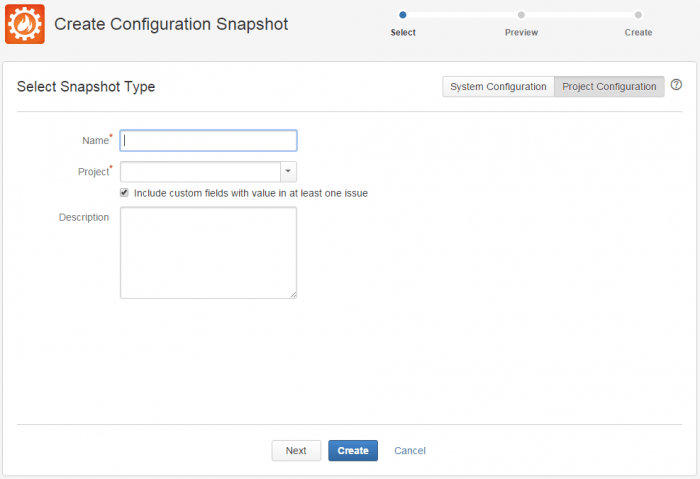 ConfigurationManagerSelectProject