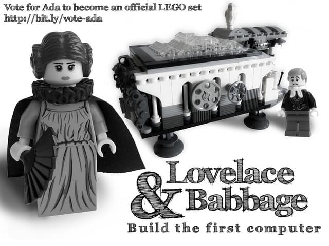 Lego set Lovelace + Babbage
