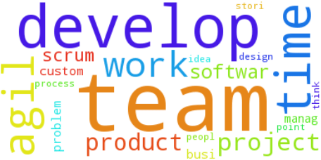 word cloud - agility