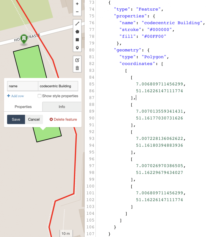 GeoJSON Polygon