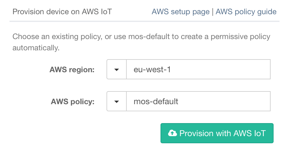 Introduction to AWS IoT: Getting your sensor data into AWS