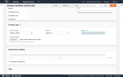 Uploading the deployment package to AWS Lambda
