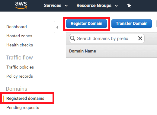 registered domains