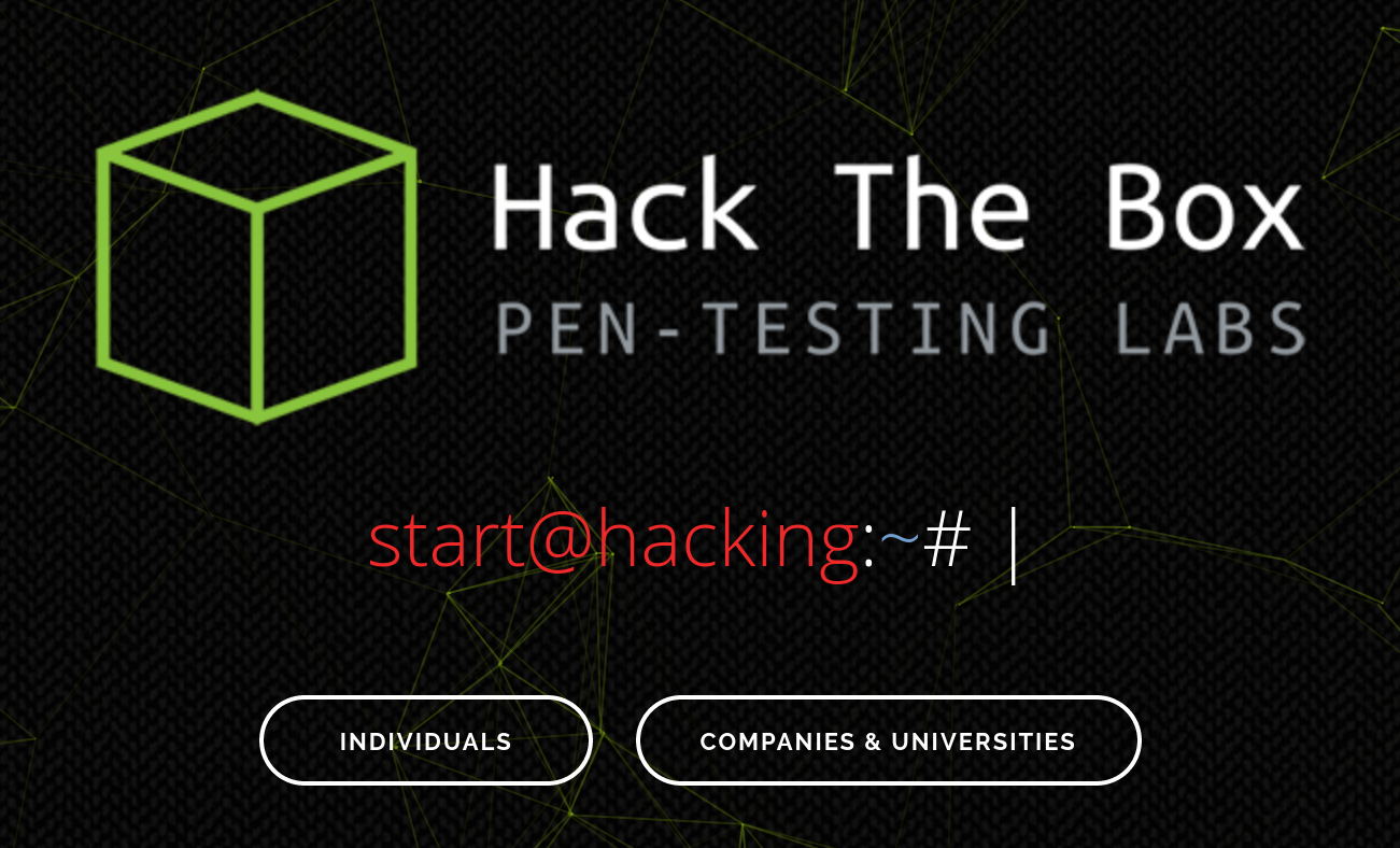 hackthebox.eu - Logo and Header