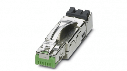 Example of an industrial Ethernet connector