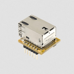 Ethernet connector and W5500 chip bundle