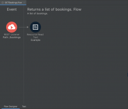 Generated flow - Designer view