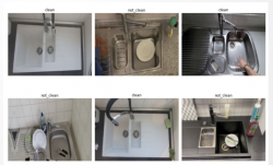 sample images from the dirty-dishes dataset