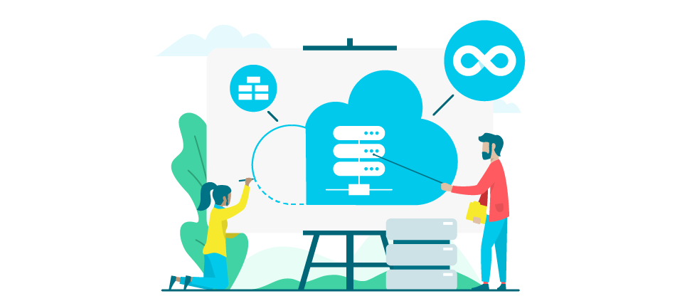 Cloud Native Illustration