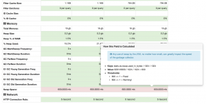 HQ node diagnostics page.