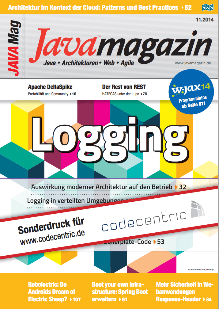 Java Magazin - Spring Boot: Boot your own infrastructure