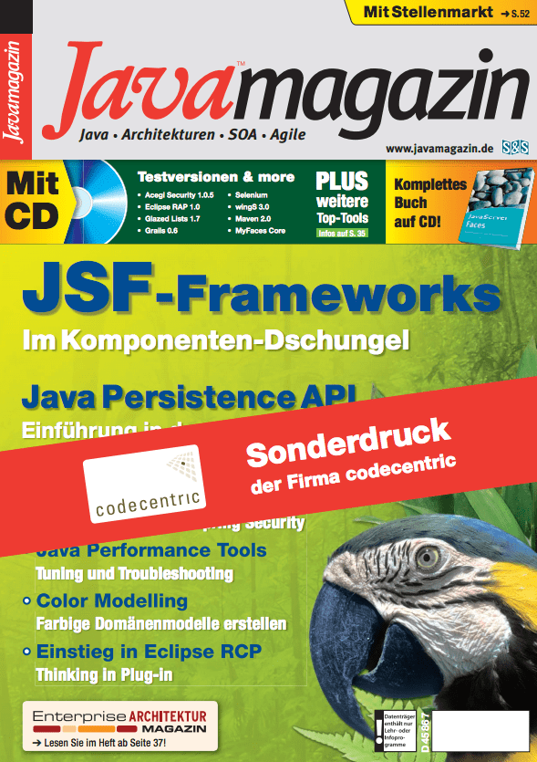 Java Magazin - Java Performance Tools, Teil 1