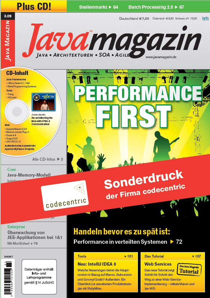 Java Magazin - Performance first