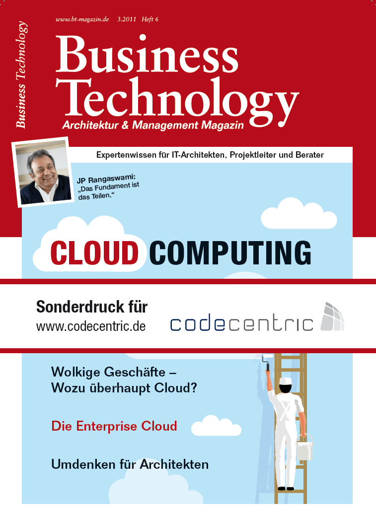 Business Technology - Cloud Computing: Umdenken für Architekten in der Cloud