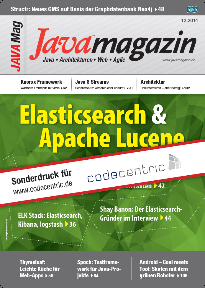 Java Magazin - Elchtest: ELK jenseits der HTTP-Access-Logs