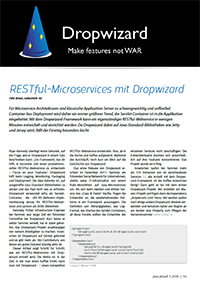 Java aktuell - RESTful Microservices mit Dropwizard