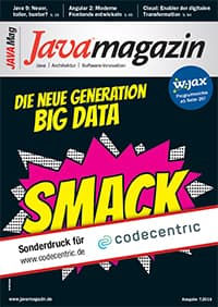 Java Magazin - Next Generation Big Data mit SMACK